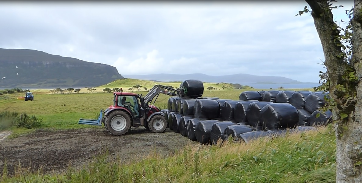 2016 Silage making